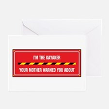 I'm the Kayaker Greeting Cards (Pk of 10)