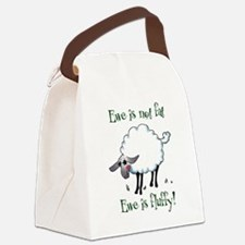 Ewe is not Fat Canvas Lunch Bag