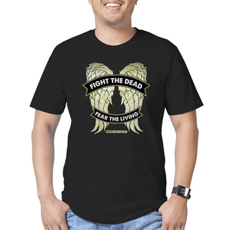 Daryl Dixon Wings Men's Fitted T-Shirt