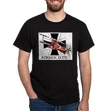 WWI German Luftwaffe Fokker airplane T-Shirt