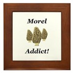 Morel Addict Framed Tile