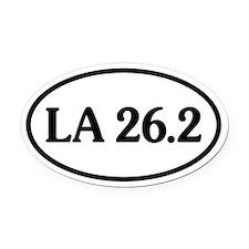 Unique 26.2 Oval Car Magnet