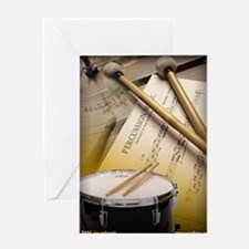 Drums Art 2 Greeting Cards