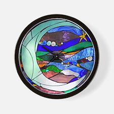 crescentmoon Wall Clock