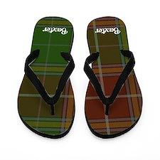 Baxter Tartan Flip Flops