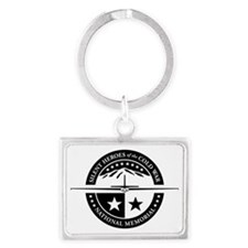 Silent Heroes of the Cold War N Landscape Keychain