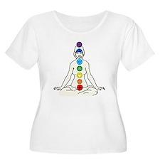 Chakra 8 Plus Size T-Shirt