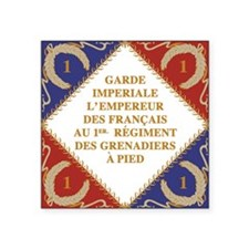 Napoleon's Guard flag Sticker