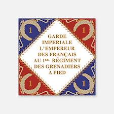 Napoleon's Guard flag Sticker