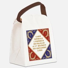 Napoleon's Guard flag Canvas Lunch Bag