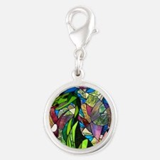 Mystic Dragon in Stained Glass Charms