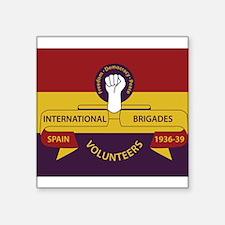 International Brigades image Sticker