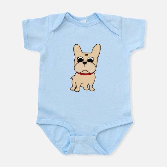 Naked Cream FB Infant Bodysuit