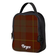 Bryce Tartan Neoprene Lunch Bag