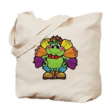 Country Style Turkey Froggy Tote Bag
