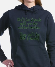 Well be friends png.png Hooded Sweatshirt