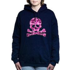 Skull pink Hooded Sweatshirt