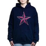 Nautical pink Hooded Sweatshirt