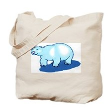 BLUE BEAR/BLUE SHADOW Tote Bag