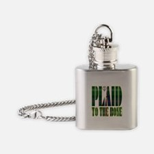 Sutherland Clan Flask Necklace