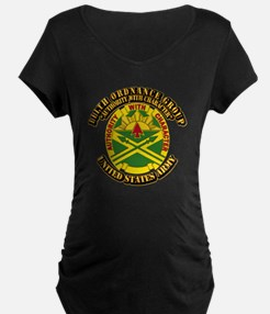DUI - 111th Ordnance Group with Text T-Shirt