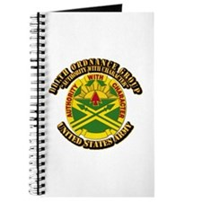 DUI - 111th Ordnance Group with Text Journal