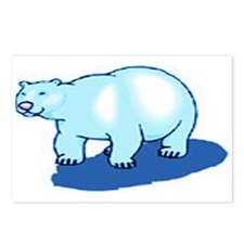 BLUE BEAR/BLUE SHADOW Postcards (Package of 8)