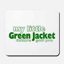 Little Green Jacket Mousepad