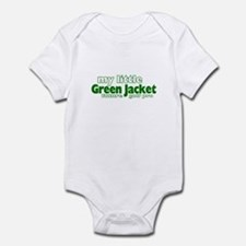 Little Green Jacket Infant Bodysuit