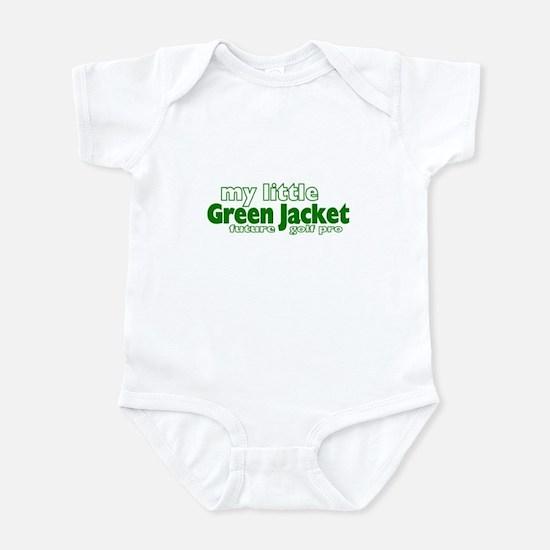 Little Green Jacket Infant Bodysuit