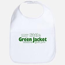 Little Green Jacket Bib