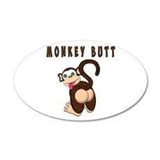Monkey Butt New Begining Wall Decal