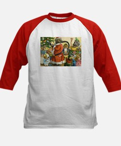 Decorating the Christmas Tree in Animal Land Tee