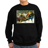 Forest animals Sweatshirt (dark)