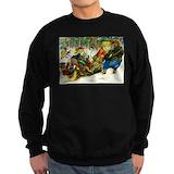Forest animals Sweatshirt (dark)