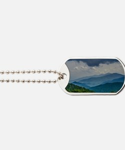 Mountains Landscape Dog Tags