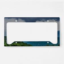 Mountains Landscape License Plate Holder