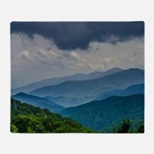 Mountains Landscape Throw Blanket
