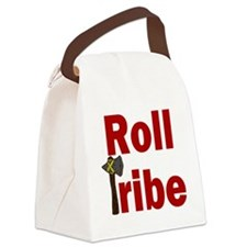 RollTribeRed Canvas Lunch Bag