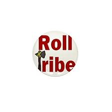 RollTribeRed Mini Button