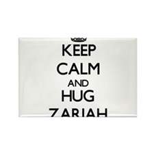 Keep Calm and HUG Zariah Magnets