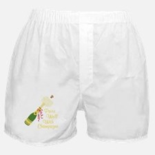 Pairs Well With Champagne Boxer Shorts