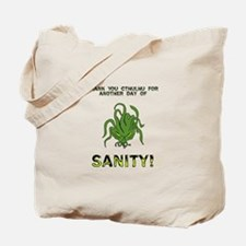 Thank You Cthulhu Tote Bag