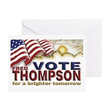 Fred Thompson 2008  Greeting Cards (Pk of 10)