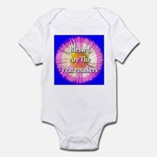 Blessed Are The Peacemakers F Infant Bodysuit