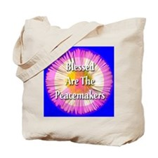 Blessed Are The Peacemakers F Tote Bag
