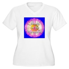 Blessed Are The Peacemakers F T-Shirt
