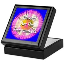 Blessed Are The Peacemakers F Keepsake Box