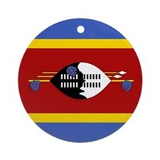 Swaziland Flag Ornament (Round)