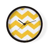 Chevron Wall Clocks